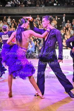 Latin Ballroom Dresses, Ballroom Dancing, My Only Love, Ballrooms, Dancing With The Stars, Dance The Night Away, Purple Dress, Glamour, Fashion