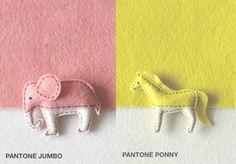 Pantone meets animals design by The Lorem Ipsum store - Singapore