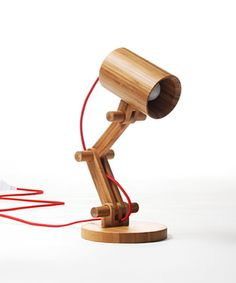 Artsy Bamboo Table Lamp | dotandbo.com