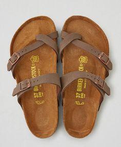 AEO Birkenstock Mayari Sandals, Women's, Size: 38 (US 7), Brown