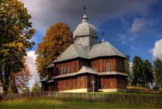 Cerkwie drewniane w Hoszowczyku Credit: Marian Stanislawski (Click to Support Artist)