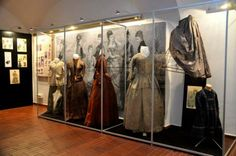 An exhibition of 19th century clothes from the museums in Mladá Boleslav, Český Dub and Mnichovo Hradiště
