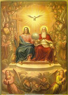 Menina Maria de Nazareth: É POSSÍVEL ILUSTRAR A SANTÍSSIMA TRINDADE?