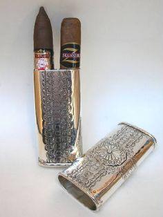 American Gentleman   Vintage Cigar Case