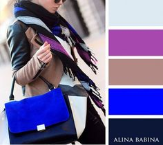 Fashion color matching harmony & pallets colour combinations fashion, c Colour Combinations Fashion, Color Combinations For Clothes, Fashion Colours, Colorful Fashion, Color Combos, Color Schemes, Merian, Color Balance, Colour Pallete