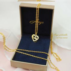 925 Sterling Silver and 12k Gold Butterfly Believe Necklace 18inch