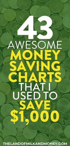 43 amazing money-saving charts to transform your finances in 2020 These money saving charts are incredible for getting me to start to save money! I really needed a money saving chart printable to put on my fridge or a PDF to save and remind me what not to Savings Challenge, Money Saving Challenge, Money Saving Tips, Money Savers, Savings Chart, Savings Plan, Save Money On Groceries, Ways To Save Money, Financial Peace