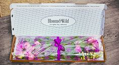 Flower delivery cut to order and delivered in a box that fits through the mailbox slot.  brilliant  #FlowersThroughYourLetterbox