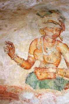 Cave-Peinture-Sigiriya