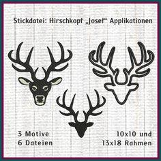 Hirschkopf Josef Stickdatei