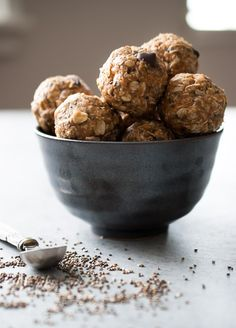 No Bake Oatmeal Energy Bites-3