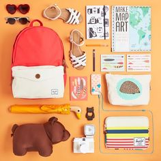 What's in your bag? Photo: @modcloth #WellPacked #HerschelSupply