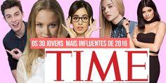 Saiu a lista anual da revista TIME  com os adolescentes /jovens mais influentes de 2016 . A lista leva em consideração os elogios em ...