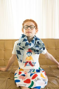 Bobo Choses Spring Summer 16 Der Blaue Reiter new collection Fashion Design For Kids, Fashion Kids, Girl Fashion, Outfits Niños, Kids Outfits, Fashion Outfits, Little Fashion, Junior, Kid Styles