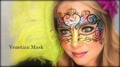 lisajoyyoung face painting - YouTube