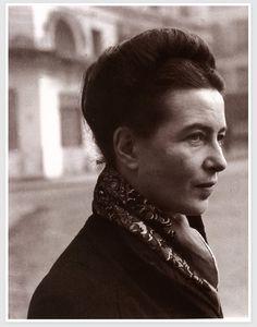 Simone-Lucie-Ernestine-Marie Bertrand de Beauvoir Simone de Beauvoir 9 January 1908 – 14 April 1986), was a French writer, intellectual, existentialist philosopher, political activist, feminist, and social theorist.