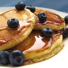Fluffy Pancakes Recipe. Dear everyone who is reading this, I made these today! They are AMAZING. So fluffy ! The batter is quite thick which made me feel like I did sometime wrong...but they turned out so great!