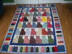 Twin Size Handmade Quilt Handquilted50x70 by Traincasesandmore, $65.00