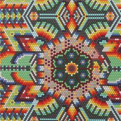 colorful sequin bead pattern fabric by Michael Miller USA 1