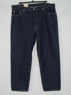 Levi's Jeans 550 Relaxed Fit Tapered Leg Men's Jeans Size 42/30 NEW #Levis #Relaxed 36.99