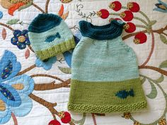 Ravelry: Olallie-O's Tunics for baby Tinknell