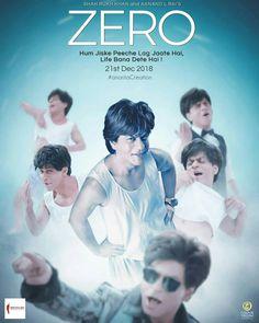 Image result for shahrukh khan Zero movie poster