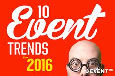 Want to Know What Will Happen With Events in 2016? Check Out Our Fresh Report! #Eventtrends #Eventprofs