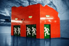 Konst i Stockholms tunnelbana - Art in Stockholm Subway