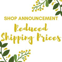 Sundry Creation is starting 2017 off right with savings for all customers, both domestic and international! We have found a way to reduce our shipping prices and offer shipping upgrades.  So head on over to the shop and enjoy these savings today!