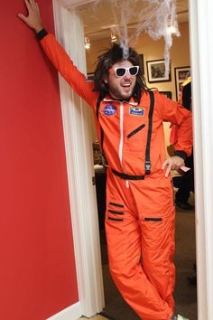 Halloween Party 2012: Director of Admissions, Ian, as Randy Rocket!