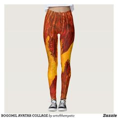 BOGOMIL AVATAR COLLAGE LEGGINGS Color Filter, Visionary Art, Leggings Fashion, Dressmaking, Things That Bounce, Avatar, My Design, Harem Pants, Grunge