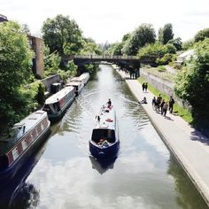 Regent's Canal, London. Photo by Leila Peterson