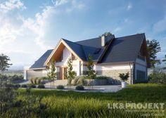 Projekty domów LK Projekt LK&1328 zdjęcie wiodące