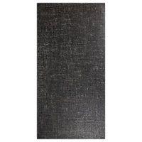 Contempo Midnight 12 x 24 in; $6.30 SF matte porcelain tile; faint crosshatch