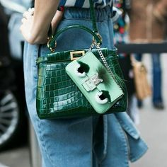 "Officially crowned by Vogue, the Fendi Micro Peekaboo bag is named the ""It  Bag of 86ed61f39e"