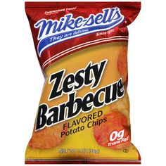 mike sells bbq chips - fave by far!!!