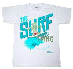 """The Surf Thing"" Summer t-shirt Summer Tshirts, Surfing, Mens Tops, T Shirt, T Shirts, Supreme T Shirt, Tee Shirt, Surf, Surfs Up"