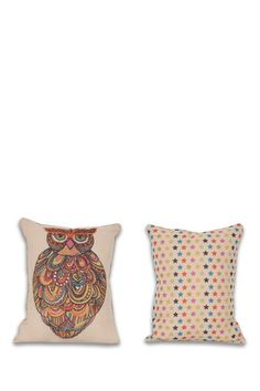 Owl Reversible Pillow