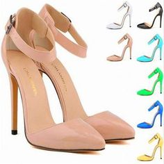 SHOES STORE – ST fashion shop Sexy Sandals, Fashion Sandals, Shoes Heels Pumps, Stiletto Heels, Cheap High Heels, Bridal Sandals, Patent Leather, Wedding Dress