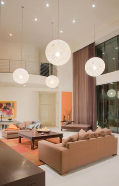 This is a GREAT, great room...Contemporary Modern Great Room Design Photo by Anne Miller Designs Album - Private Residence II, Great Room