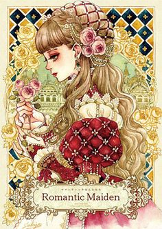 """Sakizou Thread - """"/cgl/ - Cosplay & EGL"""" is imageboard for the discussion of cosplay, elegant gothic lolita (EGL), and anime conventions. Art And Illustration, Japanese Illustration, Fantasy Kunst, Fantasy Art, Pretty Art, Cute Art, Manga Art, Anime Art, Witch Drawing"""