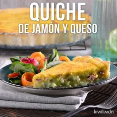 Quiche de Jamón y Queso [Video] Tasty Videos, Food Videos, Healthy Dinner Recipes, Cooking Recipes, Cooking Beef, Cooking Hacks, Cooking Ideas, Deli Food, Quiche Recipes
