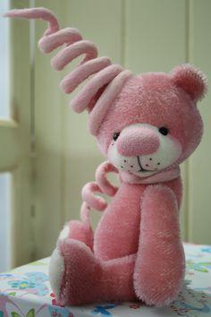 Chloe pink bear