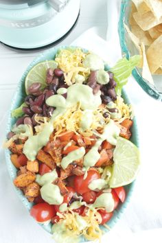southwestern salad with avocado lime dressing petitfoodie
