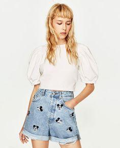 Image 2 of MICKEY BERMUDA SHORTS from Zara