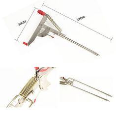 Stainless Steel Automatic Lifting Fishing Pole Holder Rod Stand Bracket Mount