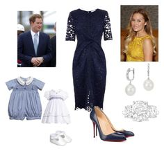 """Prince Harry greeting Wife and Kids at Wellington Airport"" by royal-fashion ❤ liked on Polyvore featuring Whistles, Lauren Conrad, Blue Nile and Christian Louboutin"