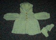 One Hour Baby Booties Pattern   AllFreeCrochet.com