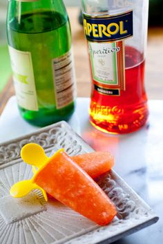 These Aperol based popsicles from Savour Fare are a sure way to beat the heat!