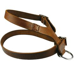 Handmade Genuine Leather Dog Harness for Large Medium Dogs